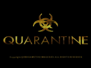 Screenshot Thumbnail / Media File 1 for Quarantine (1994)(Gametek)(US)[439480068501RE3 R3J]